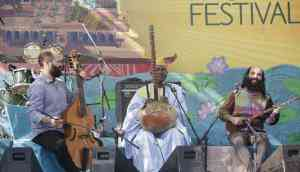Udaipur lake, peaceful tunes: Ablaye Cissoko & Constantinople open day 2 of UWMF