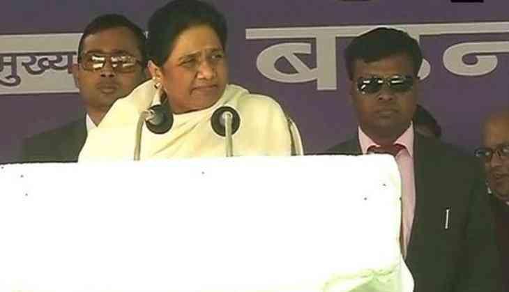Mayawati corners rival parties, says BJP has no moral right to seek vote