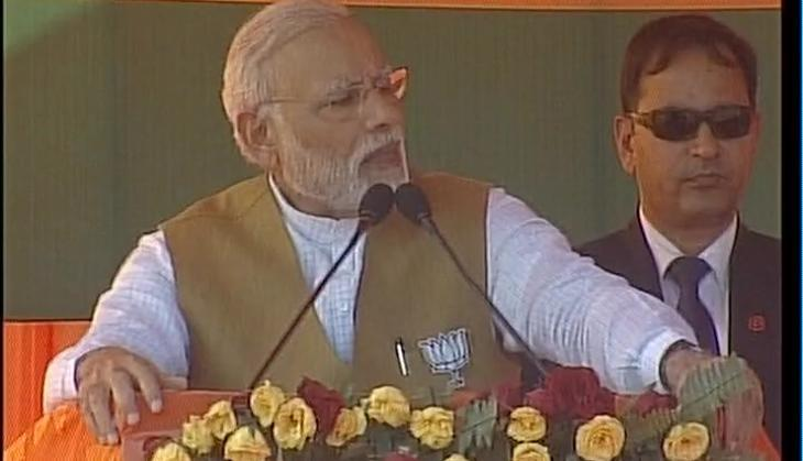 'Vanvaas' of development must end in UP: PM Modi