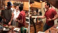 करीना कपूर के लिए सैफ़ अली ख़ान आैर रणबीर ने बनाया खाना, देखें तस्वीरें