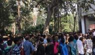 वीडियो: दिल्ली यूनिवर्सिटी में एबीवीपी और छात्रों के बीच हिंसक झड़प, पत्थरबाज़ी