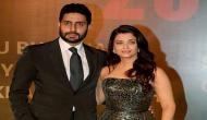 Does Abhishek object to Aishwarya being on social media?