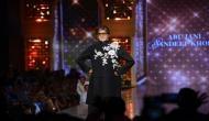 Amitabh Bachchan walks the ramp for a cause