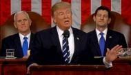 यूएस कांग्रेस में बोले ट्रंप- बाइ अमेरिकन हायर अमेरिकन
