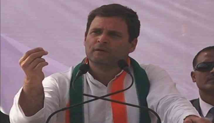 Women's Day: Rahul Gandhi signs petition to make sanitary pads tax free