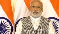 PM Modi says, world threatened by twin challenges of terrorism, climate change