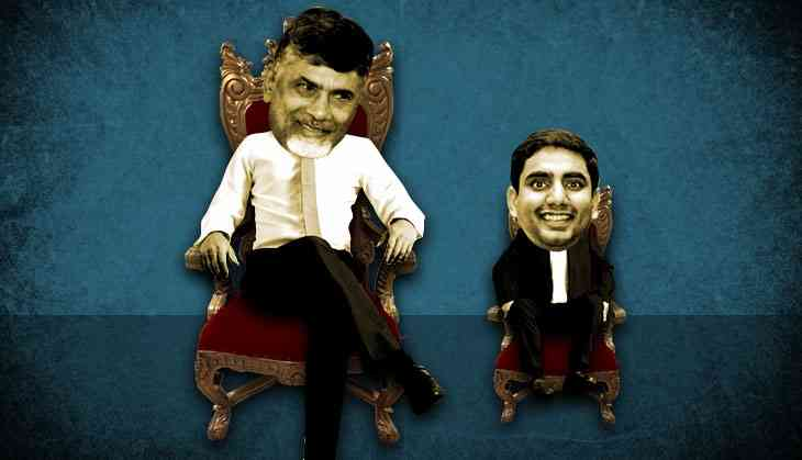How Chandrababu Naidu is getting his son into power through the backdoor