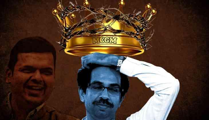 BJP surrenders MCGM to ally Shiv Sena. To save the Fadnavis govt?