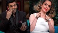 Nepotism Row: Karan Johar to work with Kangana Ranaut once again?