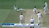 बेंगलुरु टेस्ट में रिद्धिमान साहा ने लपका कमाल का कैच, दिलाई माही की याद