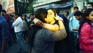 In pictures: Kerala's Kiss of Love returns to protest Sena's moral policing