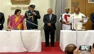 मणिपुर में पहली बार बनी बीजेपी सरकार, एन बीरेन सिंह ने ली मुख्यमंत्री की शपथ