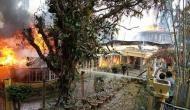 In photos: Historic Makaibari tea garden's bungalow gutted in fire