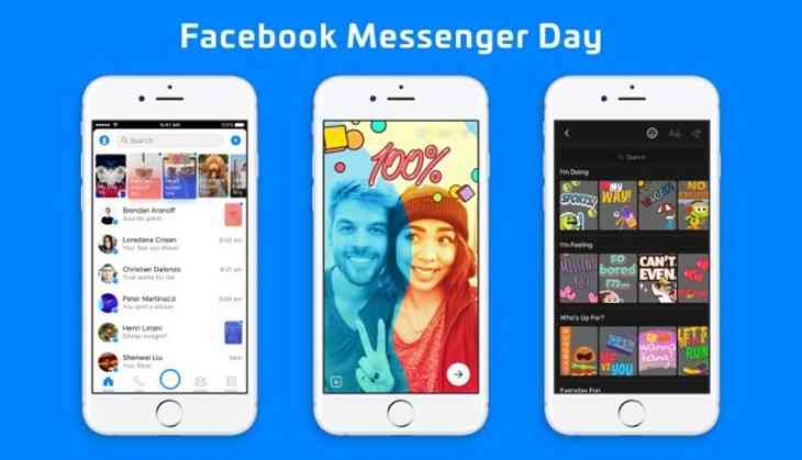 Messenger Day: Millenials love Snapchat & other social networks love to copy it