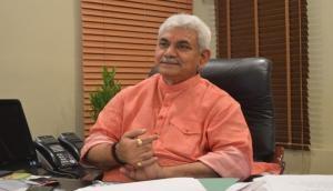 LG Manoj Sinha says, Providing rights of tribal, backward communities J-K's priority