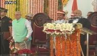 Newly appointed Chief Justice of Madhya Pradesh, Chhattisgarh take oath of secrecy