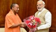 UP CM Adityanath meets PM Modi in Parliament