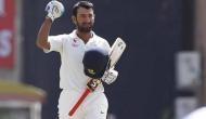 कोलकाता टेस्ट: पुजारा फिफ्टी मारकर बोल्ड, टीम इंडिया का स्कोर 100 के पार