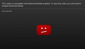 'Sexy Bath Time' can be viewed on YouTube Restricted Mode, not LGBT videos