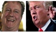 Don't have to listen to Donald Trump's wiretaps anymore, jokes David Cameron