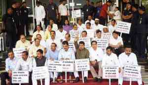 Nineteen Maharashtra MLAs suspended for creating a ruckus during Budget Session