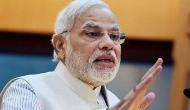 PM Modi walks up to opposition leaders