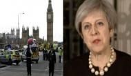 UK Prime Minister Theresa May describes attack on Parliament as 'sick and depraved'