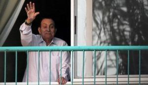 Ex- Egyptian ruler Hosni Mubarak walks free after six years