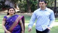 मुलायम के बेटे प्रतीक और बहू अपर्णा ने सीएम योगी आदित्यनाथ से की मुलाक़ात