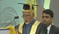 विश्वविद्यालयों में उठ रही अभिव्यक्ति की आजादी पर मुखर हुए उपराष्ट्रपति अंसारी