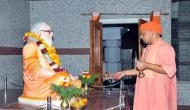 सीएम योगी 5 दिनों तक मंदिर से चलाएंगे उप्र की सरकार