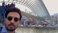 Irrfan Khan in Georgia for 'Hindi Medium' shooting