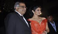Sridevi and Boney Kapoor: trouble in paradise?