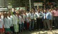 Mumbai: Civil Hospital doctors protest against assault on colleagues in Thane