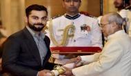विराट कोहली, दीपा, साक्षी समेत 39 लोगों को पद्म पुरस्कार से किया गया सम्मानित