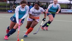 Women's Hockey World League: India beat Uruguay 4-2