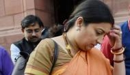 We were just having fun, say students booked for chasing Smriti Irani's car