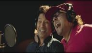 मास्टर ब्लास्टर सचिन 'क्रिकेट वाली बीट पर' लगाया सिक्सर, वीडियो हुआ वायरल