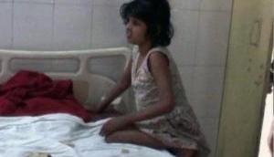 Uttar Pradesh: Ten year-old forest girl shows improvement in health