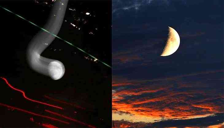 Moon over: Stunning shots of Earth's favourite satellite through its 28 phases