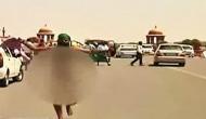 किसानों ने पीएमओ के बाहर कपड़े उतारकर किया विरोध प्रदर्शन