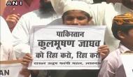कुलभूषण जाधव की फांसी के ख़िलाफ़ लखनऊ में मुस्लिमों का प्रदर्शन