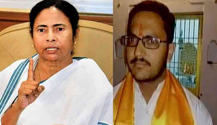BJP youth leader calls for Mamata's decapitation. AITC leaders lose their heads