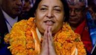 Nepal President to tour Odisha, Gujarat during five-day visit