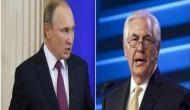 Russia: Vladimir Putin meets Tillerson as Syria rift deepens