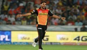 भुवनेश्वर कुमार ने 5 विकेट लेकर किंग्स इलेवन पंजाब से छीनी जीत