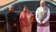 Nepal President receives ceremonial reception at Rashtrapati Bhawan