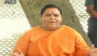 Uma Bharti refuses to comment on reports of her resignation