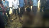 राजस्थान में सामने आया शर्मनाक वीडियो, प्रेमी जोड़े को निर्वस्त्र कर गांव में घुमाया