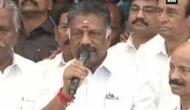 Our fight for justice has its first victory: O Panneerselvam